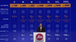 Jio vouchers & Packs