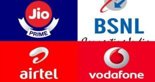 Jio vs Airtel vs Vodafone vs BSNL vs Idea