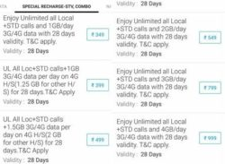 airtel stv plans