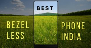 bezel less phones