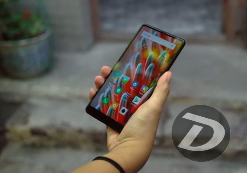 Xiaomi bezel less smartphone