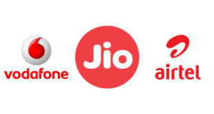 Jio vs Vodafone vs Airtel