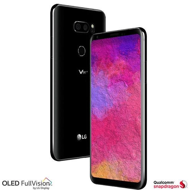 Image shows LG V30+