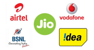 Airtel, Jio, Vodafone, BSNL & Idea
