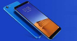 Vivo V7+ Energetic Blue color