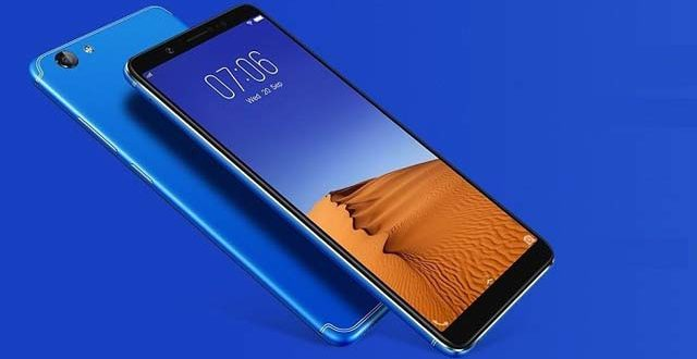 Vivo V7+ Energetic Blue color