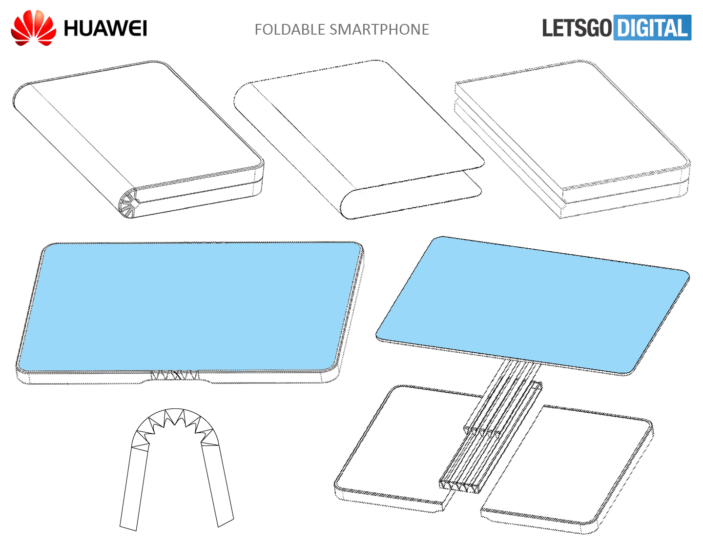 Huawei Patents A Foldable Smartphone