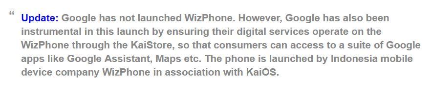 wizphone update