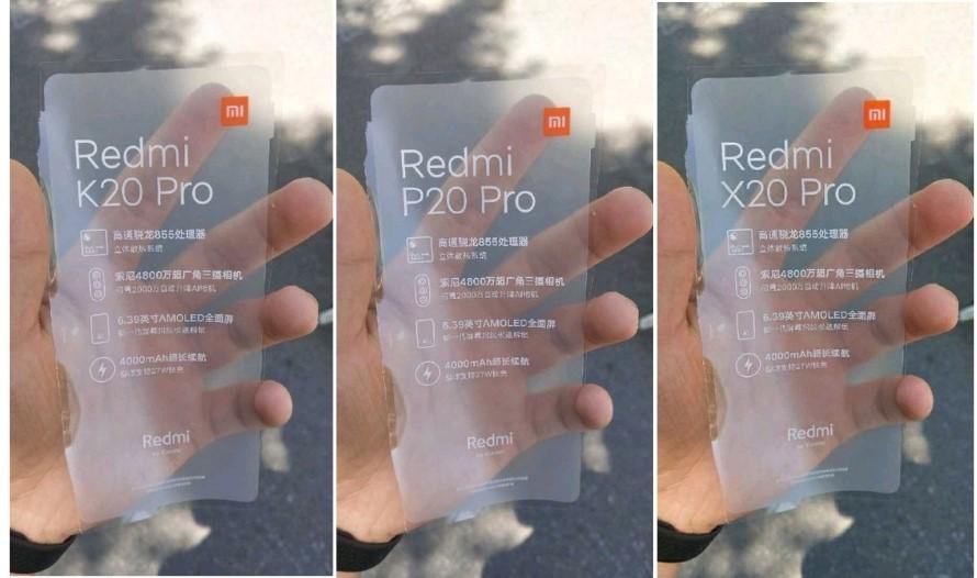 Redmi Flagship Fake Screen Protector