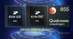 Kirin 810 vs Kirin 980 vs Snapdragon 855