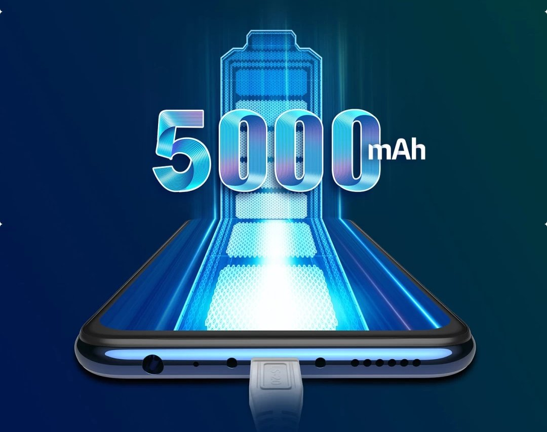 5000 mah Battery z1 pro