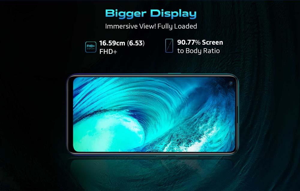 Bigger Display Vivo z1 pro