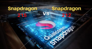 Snapdragon 215 vs Snapdragon 212