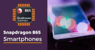 Snapdragon 865 Phones List