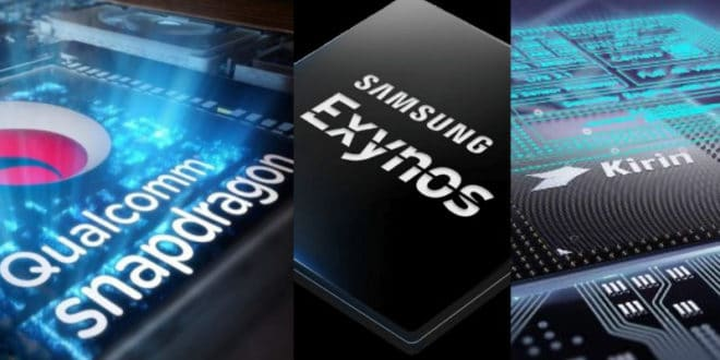 Snapdragon 855 Plus vs Exynos 9825 vs Kirin 980