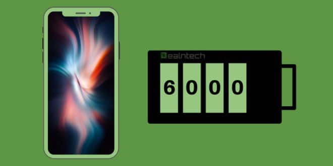 6000 mAh battery phone
