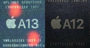 Apple A13 Bionic vs Apple A12 Bionic