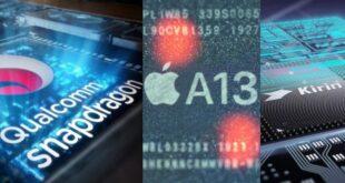 Apple A13 Bionic vs Snapdragon 855 Plus vs Kirin 990 5G
