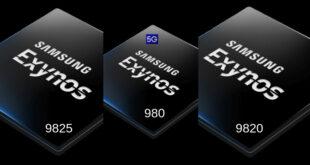 Exynos 980 vs Exynos 9825 vs Exynos 9820