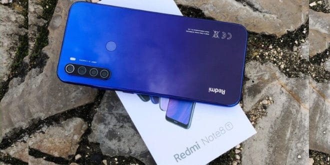 Leaked Redmi Note 8T in Starscape Blue