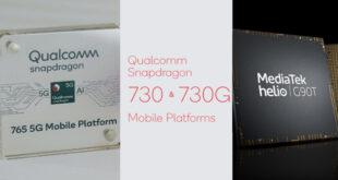 Snapdragon 765G vs 730G vs Helio G90T