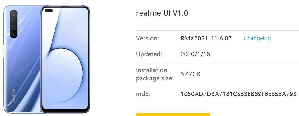 download realme software