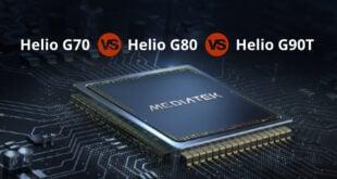 Helio G70 vs G80 vs G90T