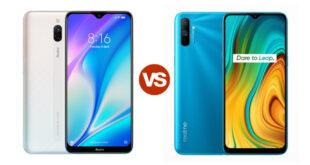 Redmi 8A dual vs Realme C3