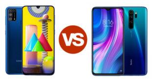 Redmi Note 8 Pro vs Samsung galaxy M31