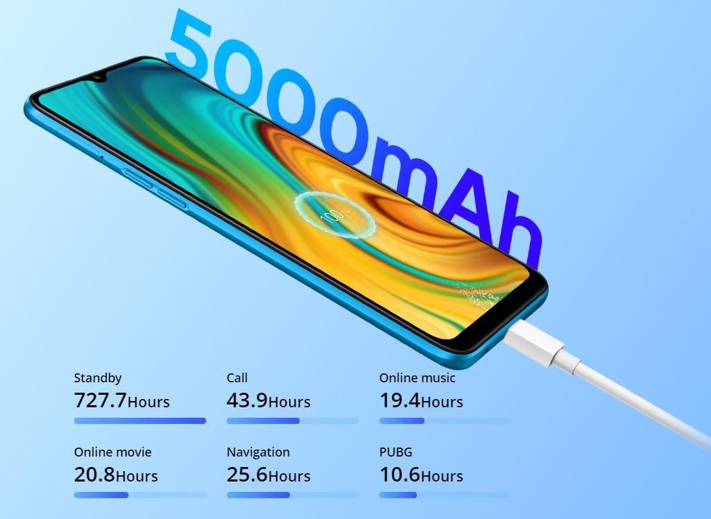 battery 5000 mah